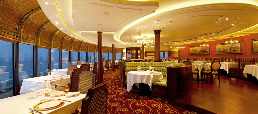 Interior - Italian Restaurant - Disney Dream 1