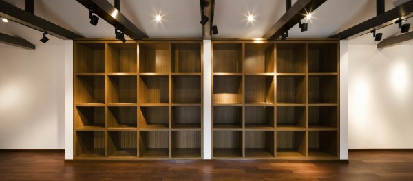 Interior lighting design. It is not difficult to image how it would be after displaying all the collections.