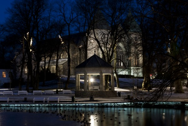 Second prize : City cathedral and adjacent areas, Stavanger, Norway