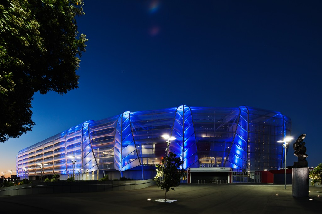 Exterior lighting design of Eden Park