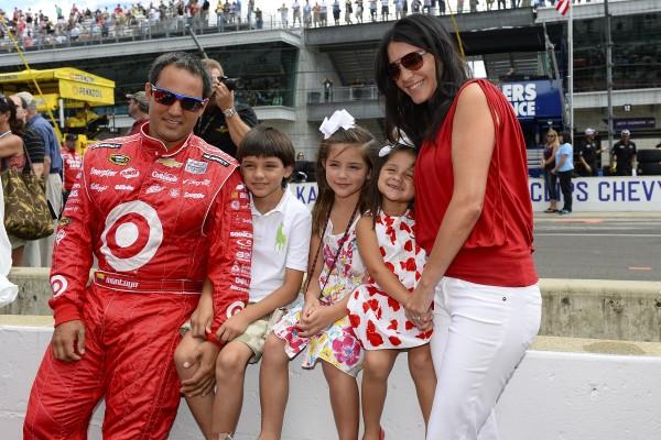 Target NASCAR Sprint Cup Series Driver, Juan Pablo Montoya, and Family