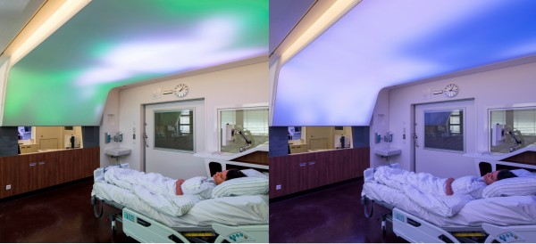 Luminous Ceiling From Philips Simulates Daylight To