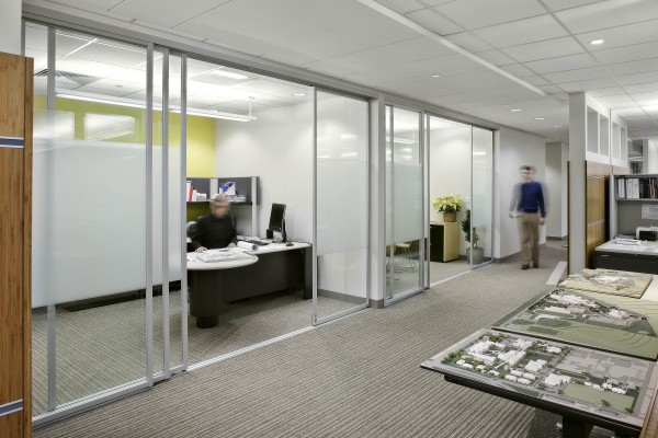 Bruno LEDs are highly energy-saving and bright so they are perfect for commercial offices.