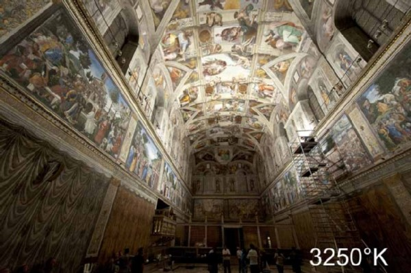 The protection of the art works, played an especially important role during the planning of the project. Copyright – Governatorato dello Stato della Città del Vaticano
