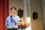 EVERLIGHT Senior Director of Research and Development Division, Harrison Lin. (LEDinside)