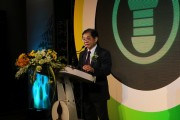 Governor of PEA Namchai Lorwattanatrakul during his opening remarks.