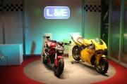 Thailand's leading LED manufacturer L&E displays a retail lighting solution. (LEDinside)