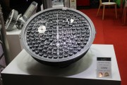 LED Korea mainly imports LED products, such as this high bay light from Korean manufacturers. (LEDinside)