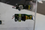LED drivers displayed by T&T Innovation. (LEDinside)