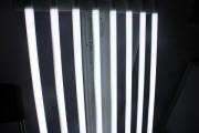 Soitec's LED tube lights. (LEDinside)