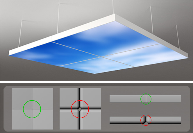 Neonny Made Breakthrough In Led Moving Sky Led Panel
