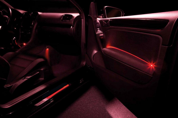 osram launches wireless ambient lighting kits for cars ledinside. Black Bedroom Furniture Sets. Home Design Ideas