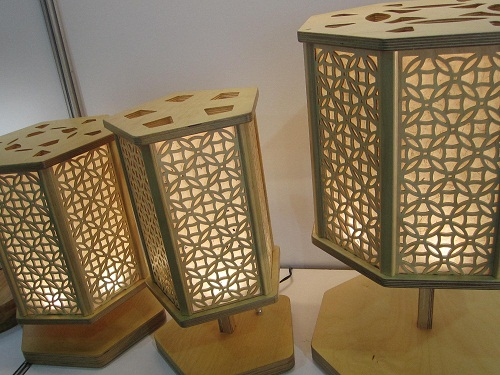 How Do Leds Work >> Bamboo Lamps Put a Unique Spin on Environmentally Friendly Lighting - LEDinside