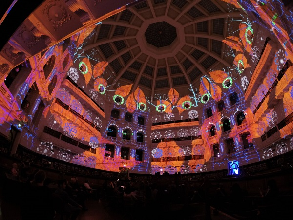 The team at TDC created a projection area that was 120 metres wide by 30 meters high with a full 360-degree blend. High-resolution content was rendered at ... & TDC Lights up Australia-based Library with Projection Mapping ... azcodes.com