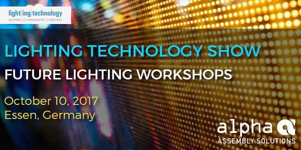 (Image Alpha Assembly Solutions) & Alpha to Present on LED Products at the Lighting Technology Show ... azcodes.com