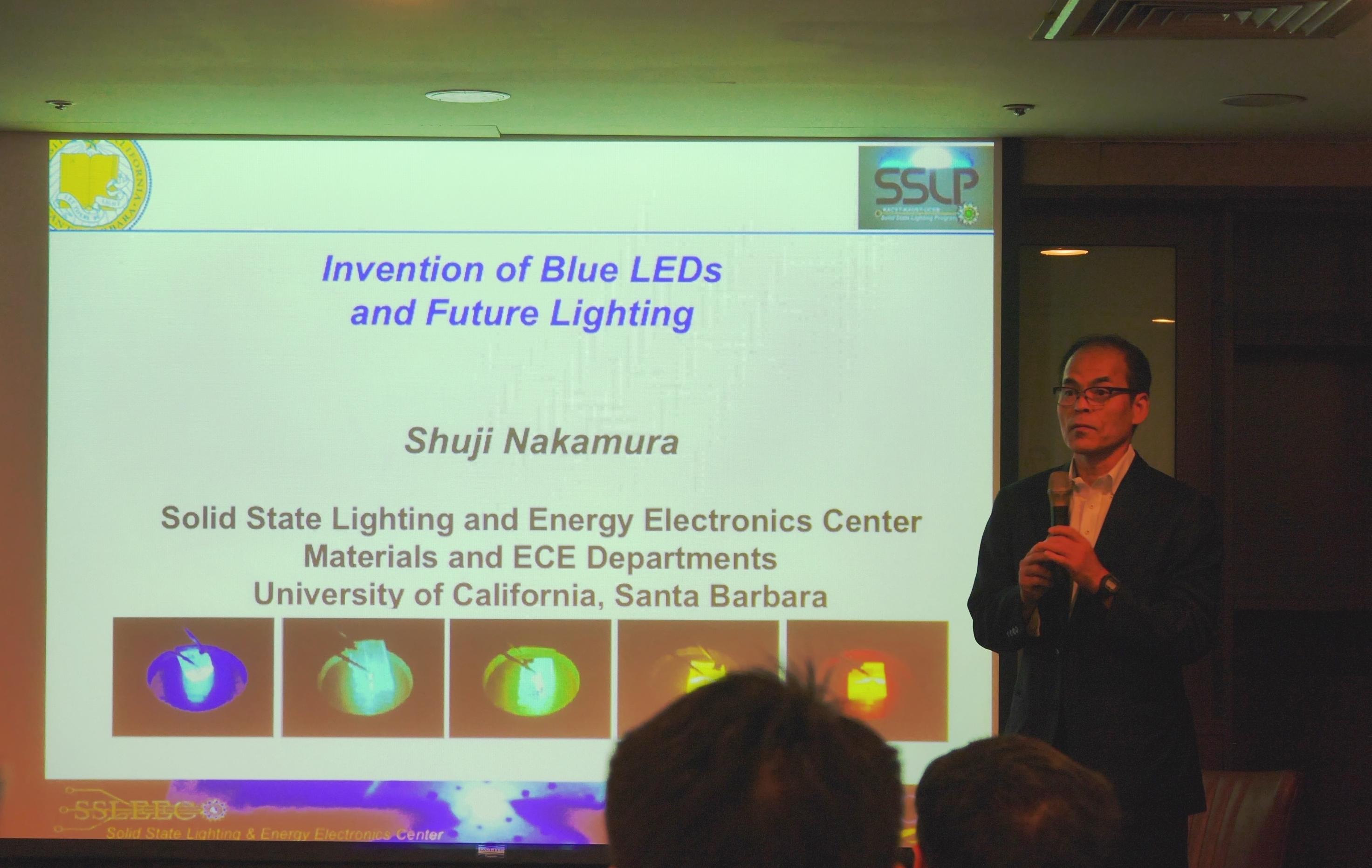 Nobel Laureate Shuiji Nakamura Sees Laser Lighting and Li-Fi the Next Target for LEDs