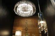 While less in number than other products, lighting fixtures displayed at TILS were elegantly  designed and eye catching.