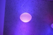 A 3D printed Hue LED table lamp.
