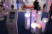 Philips Lighting provided visitors with an interactive experience with their Hue bulb.