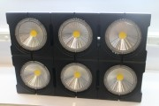 Taiwanese LED manufacturer Glaring International displays floodlights (LEDinside)