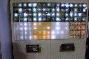 Sensacell's interactive LED lights. (LEDinside).